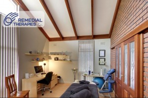 Remedial Therapies SA massage treatment room Blackwood